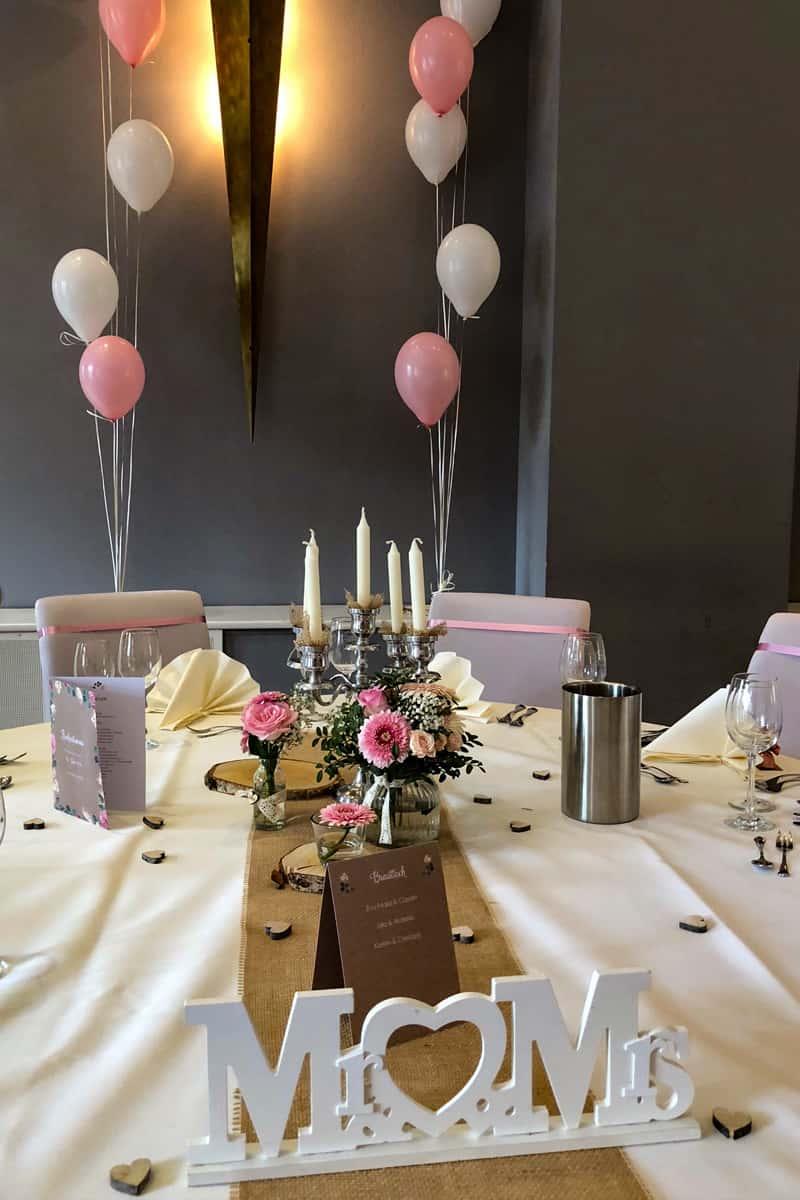 Hochzeitsgestaltung